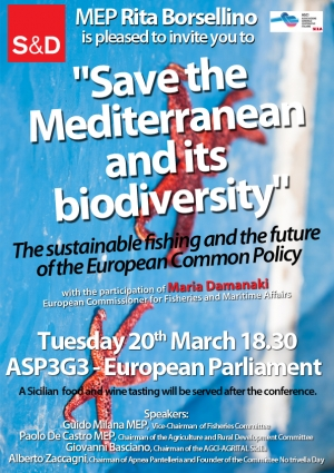 Save the Mediterranean and its biodiversity